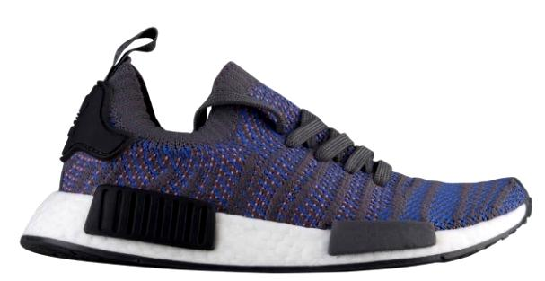 アディダス メンズ adidas Originals NMD R1 STLT Primeknit スニーカー ランニングシューズ Hi-Res Blue/Black/Chalk Coral