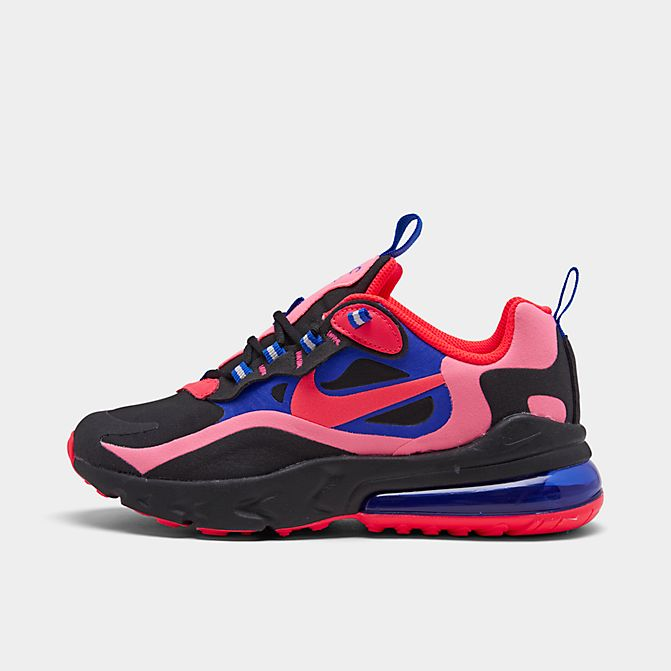 ナイキ キッズ/レディース スニーカー Nike Air Max 270 GS ランニングシューズ Black/Flash Crimson/Racer Blue