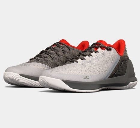 即納 アンダーアーマー Under キッズ/レディース White/Grey/Aluminum Under Armour ミニバス Curry 3 Low GS バッシュ White/Grey/Aluminum カリー3 ローカット ミニバス, Weekend Charm:fbb4ff1b --- ww.thecollagist.com