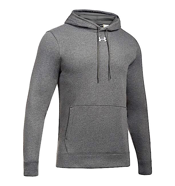 アンダーアーマー メンズ Under Armour UA Rival Fleece Team Hoodie パーカー フーディー Carbon Heather / White