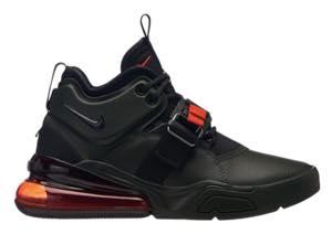 ナイキ ボーイズ/キッズ/レディース スニーカー Nike Air Force 270 エアフォース Sequoia/Habanero Red/Black