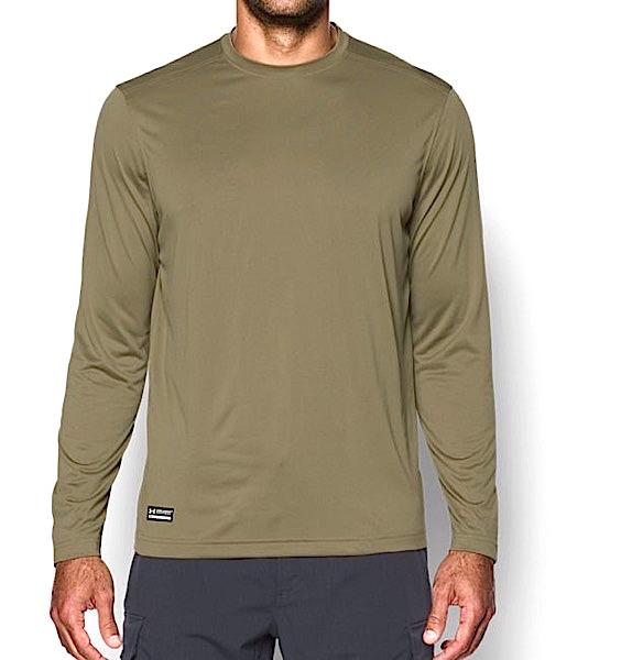 アンダーアーマー メンズ Under Armour Tactical UA Tech Long Sleeve T-Shirt 長袖 Tシャツ Federal Tan