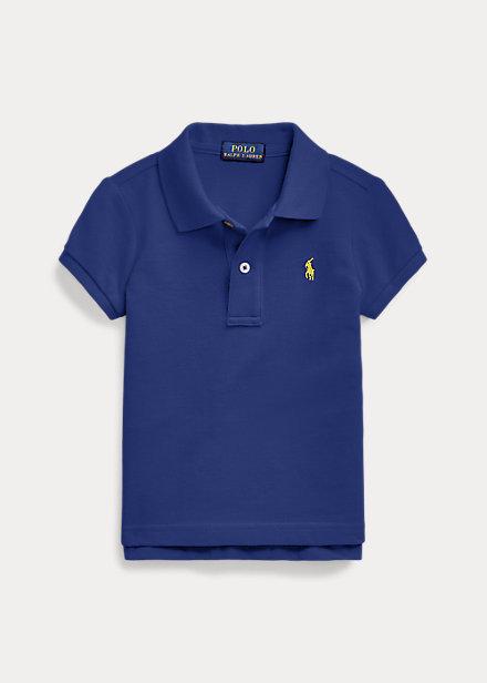 ラルフローレン 2-6X ガールズ/キッズ Polo Ralph Lauren Cotton Mesh Polo Shirt ポロシャツ 半袖 Fall Royal 女の子