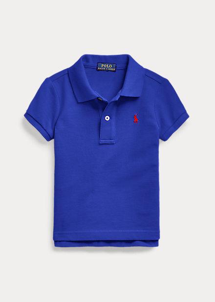 ラルフローレン 2-6X ガールズ/キッズ Polo Ralph Lauren Cotton Mesh Polo Shirt ポロシャツ 半袖 Heritage Royal 女の子