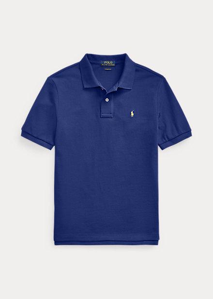 ラルフローレン 8-20 ボーイズ/キッズ Polo Ralph Lauren Cotton Mesh Polo Shirt ポロシャツ 半袖 Fall Royal 男の子