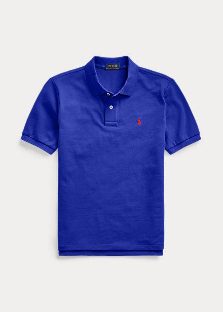 ラルフローレン 8-20 ボーイズ/キッズ Polo Ralph Lauren Cotton Mesh Polo Shirt ポロシャツ 半袖 Heritage Royal 男の子