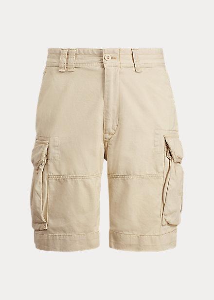 買い付けNOW 3 18より注文順に発送開始予定 送料無料 ポロ 配送員設置送料無料 ラルフローレン メンズ Polo 購入 Ralph ショーツ Cargo Tan Lauren Fit Classic ハーフパンツ Short