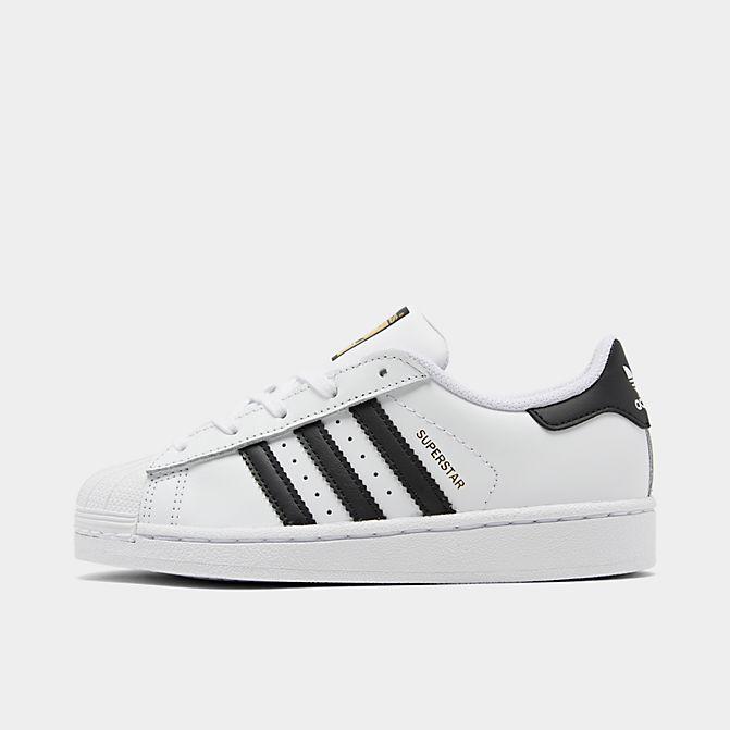 アディダス スーパースター キッズ/ジュニア adidas Originals Superstar スニーカー White/Black/White