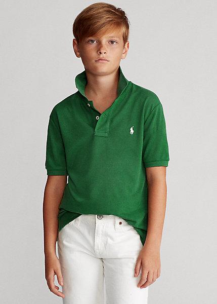 ラルフローレン 8-20 ボーイズ/キッズ Polo Ralph Lauren The Earth Polo ポロシャツ 半袖 Stuart Green 男の子