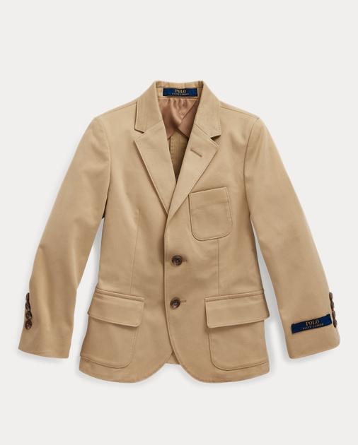 ポロ ラルフローレン 2T-7 ボーイズ/キッズ Polo Ralph Lauren Stretch Chino Suit Jacket ジャケット COASTAL BEIGE