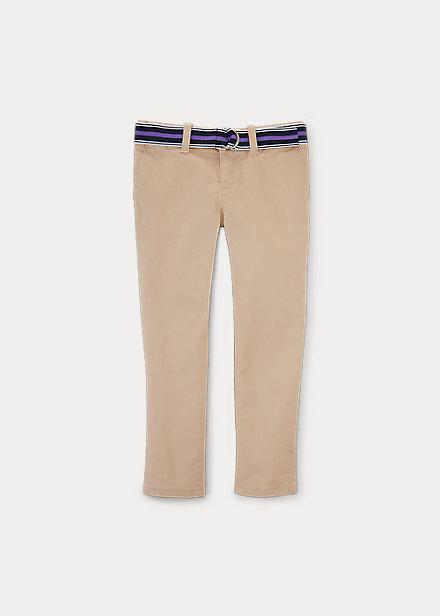 ラルフローレン 2-6X ガールズ/キッズ Polo Ralph Lauren Stretch Cotton Chino Pant パンツ Royal Khaki 女の子