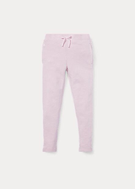 ラルフローレン 2-6X ガールズ/キッズ Polo Ralph Lauren French Terry Legging レギンス パンツ Hint Of Pink 女の子