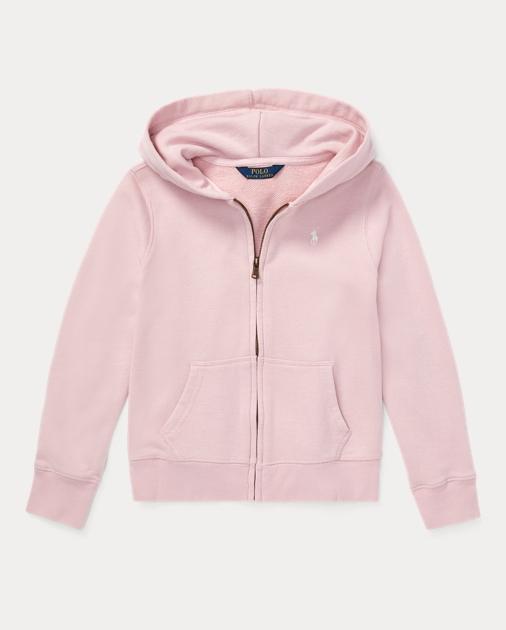 ポロ ラルフローレン ガールズ/キッズ Polo Ralph Lauren French Terry Hoodie パーカー Hint Of Pink