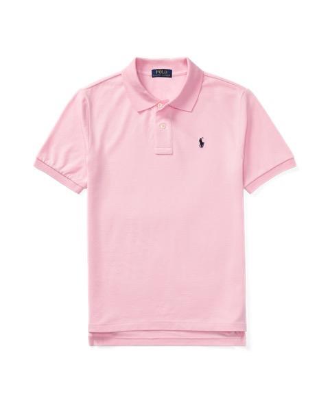 ラルフローレン ボーイズ/キッズ Polo Ralph Lauren Cotton Mesh Polo Shirt ポロシャツ 半袖 PINK 男の子