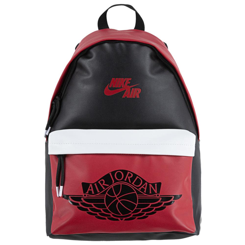 ジョーダン メンズ Jordan AJ1 Backpack バックパック リュックサック Black/Gym Red/White