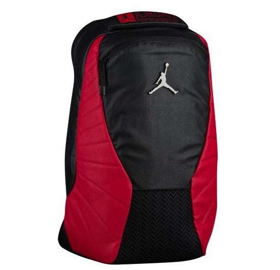 ジョーダン メンズ Jordan Retro 12 Backpack バックパック リュックサック Black/Gym Red ナイキ NIKE レトロ12