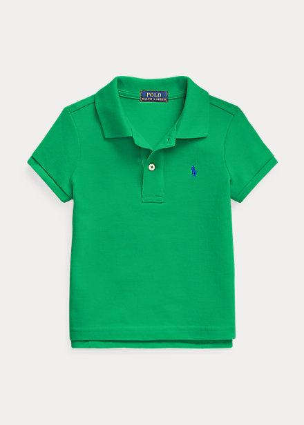 ポロシャツ 女の子 ラルフローレン ガールズ/キッズ 2-6X Billiard Polo Mesh Ralph 半袖 Shirt Cotton Lauren Polo
