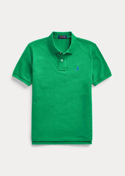 ラルフローレン 8-20 ボーイズ/キッズ Polo Ralph Lauren Cotton Mesh Polo Shirt ポロシャツ 半袖 Billiard 男の子