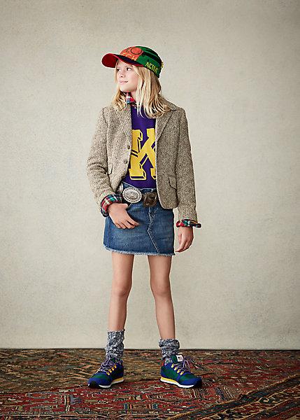ポロ ラルフローレン 2-6X ガールズ/キッズ Polo Ralph Lauren Denim 5-Pocket Skirt スカート Wash 女の子