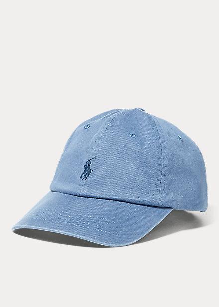 ラルフローレン キャップ Polo Ralph Lauren Cotton Chino Baseball Cap 帽子 Carson Blue/Adirondack Na