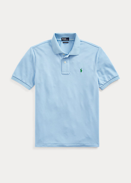 ラルフローレン 8-20 ボーイズ/キッズ Polo Ralph Lauren The Earth Polo ポロシャツ 半袖 Baby Blue 男の子