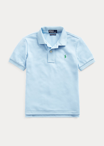 ラルフローレン 2T-7 ボーイズ/キッズ Polo Ralph Lauren The Earth Polo ポロシャツ 半袖 Baby Blue 男の子
