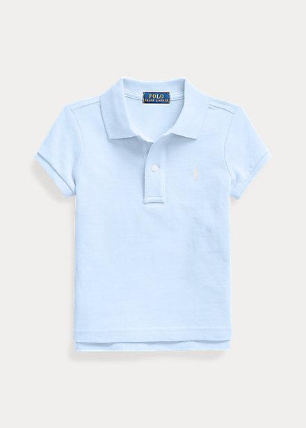 ラルフローレン 2-6X ガールズ/キッズ Polo Ralph Lauren Cotton Mesh Polo Shirt ポロシャツ 半袖 Elite Blue 女の子