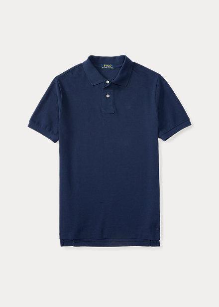 ラルフローレン 8-20 ボーイズ/キッズ Polo Ralph Lauren Cotton Mesh Uniform Polo Shirt ポロシャツ 半袖 Newport Navy 男の子