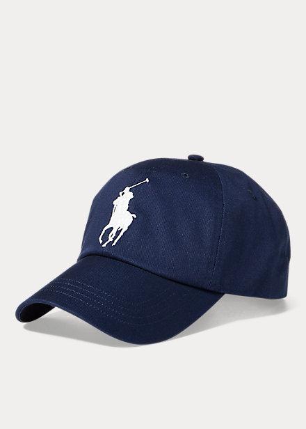 ラルフローレン キャップ Polo Ralph Lauren Big Pony Chino Baseball Cap 帽子 Newport Navy
