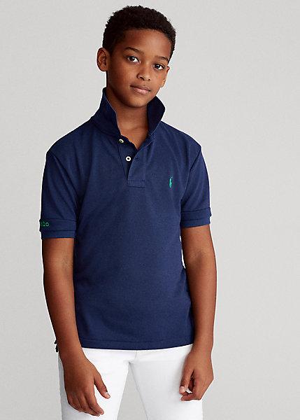 ラルフローレン 8-20 ボーイズ/キッズ Polo Ralph Lauren The Earth Polo ポロシャツ 半袖 Newport Navy 男の子