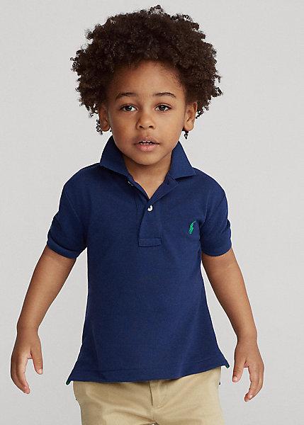 ラルフローレン 2T-7 ボーイズ/キッズ Polo Ralph Lauren The Earth Polo ポロシャツ 半袖 Newport Navy 男の子