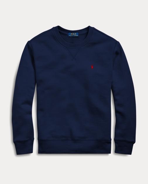 ポロ ラルフローレン ボーイズ/キッズ 8-20 Polo Ralph Lauren Cotton-Blend-Fleece Sweatshirt スウェットシャツ CRUISE NAVY トレーナー