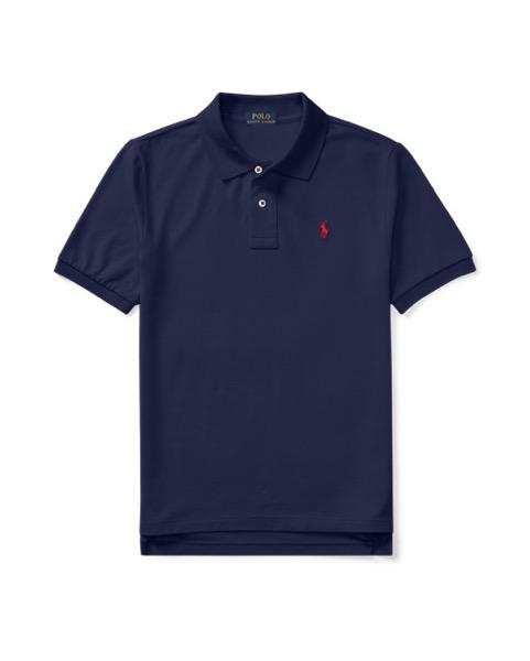 ラルフローレン ボーイズ/キッズ Polo Ralph Lauren Cotton Mesh Polo Shirt ポロシャツ 半袖 NAVY 男の子