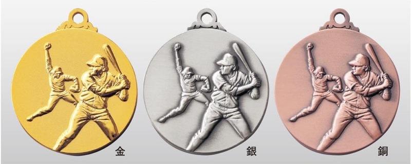 トロフィー工房のメダルは 高品質レーザー印字無料 10000円以上お買い上げで送料無料 高級な SMメダル40mm 至上 男子ソフトボール プラケース SM7110B A-1 首掛けリボンなし
