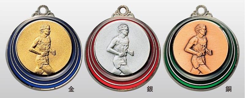 トロフィー工房のメダルは 高品質レーザー印字無料 10000円以上お買い上げで送料無料 SMカラーメダル40mm ランナー 首掛けリボンあり プラケース A-1 おトク 直営限定アウトレット SM7212A