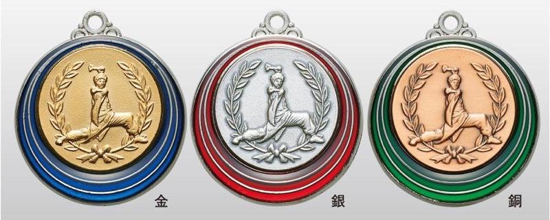 トロフィー工房のメダルは 高品質レーザー印字無料 10000円以上お買い上げで送料無料 買物 SMカラーメダル40mm 蔵 祭り A-1 首掛けリボンなし SM7222B プラケース