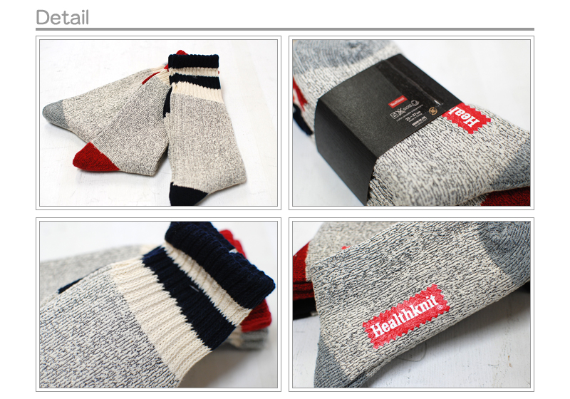 HealthKnit 3Pack laughed 3 crew sock / size: