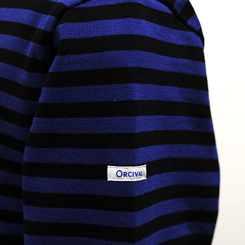 Orcival border boat neck バスクシャツ (mens and Womens)