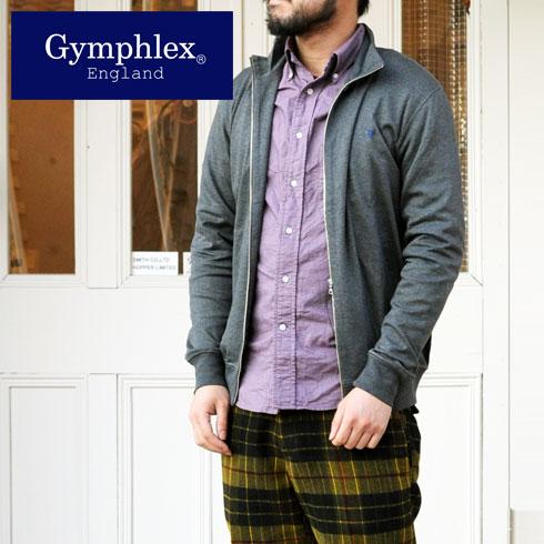 Gymphlex INTERLOCK stand color SIP up jacket (J-1012PL) 20% off!!