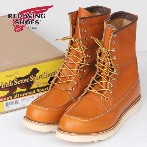 RED WING【レッド ウィング】Irish SetterClassic Work / 8 Moc-Toe(9877)