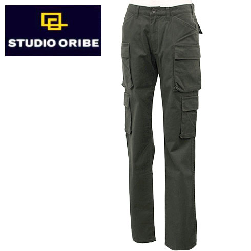 【20%OFF】 STUDIO ORIBE【スタジオオリベ】8POCKET PANTS Men's【EP05-43】【楽ギフ_メッセ入力】