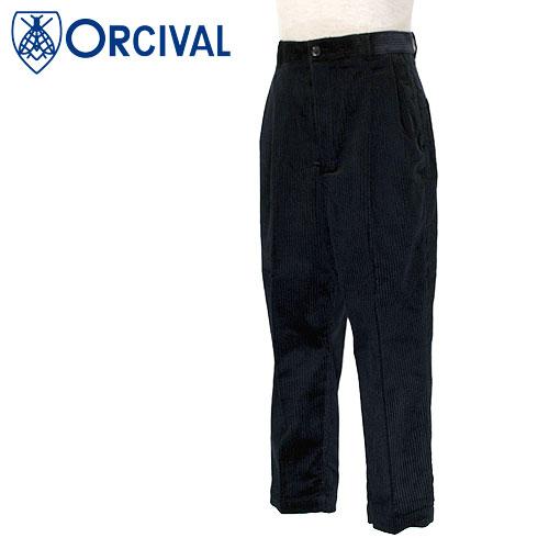 【30%OFF】 Orcival【オーチバル】コーデュロイ ツータックトラウザーパンツ Men's【RC-2561 CIT】【楽ギフ_メッセ入力】