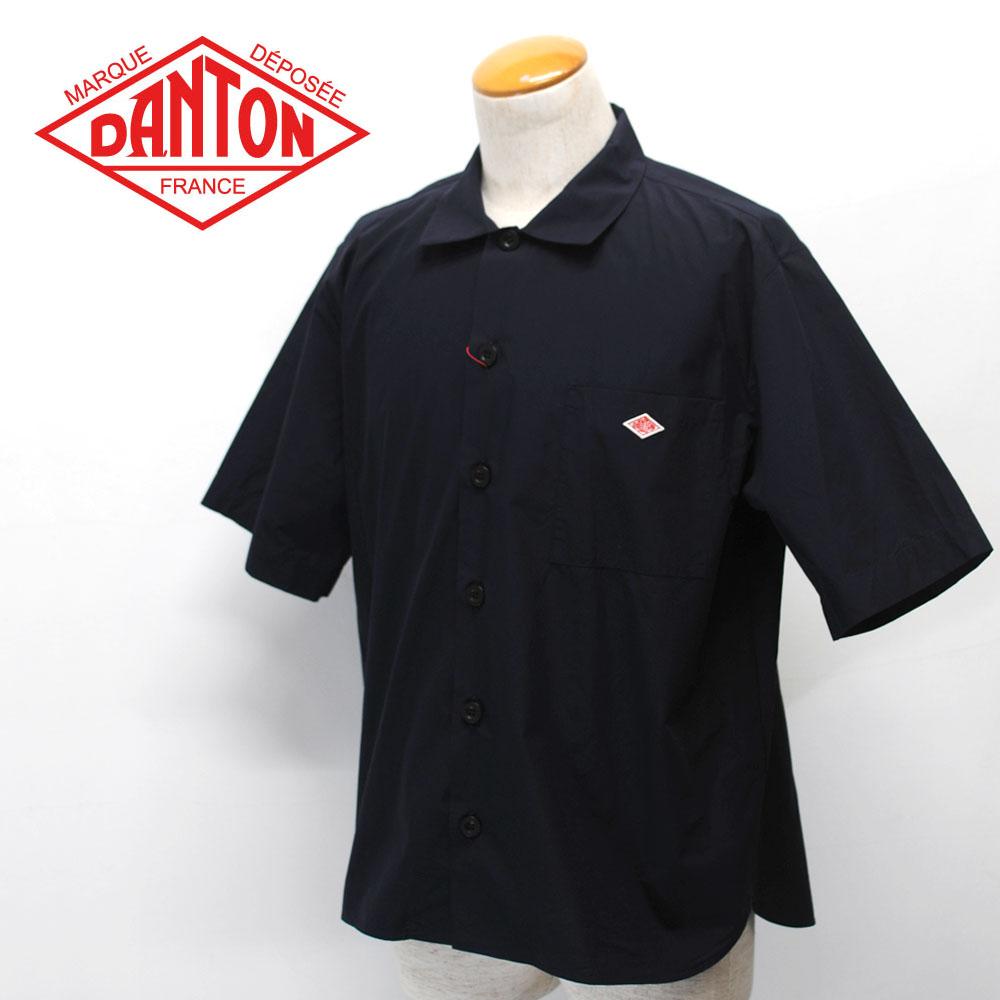 DANTON【ダントン】コットンポプリン ワイドシャツ Men's【JD-3609 MSA】【楽ギフ_メッセ入力】
