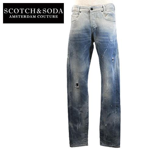 【40%OFF】 SCOTCH&SODA【スコッチアンドソーダ】SLOUCH Dropped Straight fit Men's【282-55550】【楽ギフ_メッセ入力】
