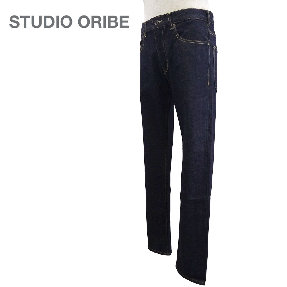 STUDIO ORIBE【スタジオオリベ】RIDE ON DENIM Men's/ライドオン デニムパンツ【RD04】【楽ギフ_メッセ入力】