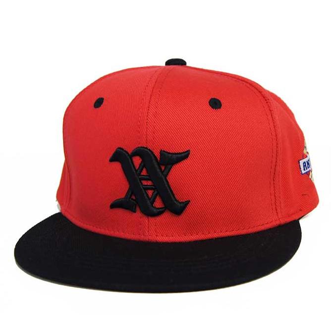 ANIMALIA(アニマリア) WORLD FAMOUS BB SNAPBACK CAP (RED) スナップバックキャップ 帽子