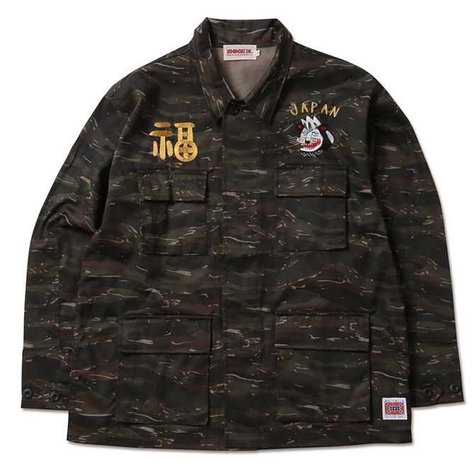 【2020-3月入荷】ANIMALIA(アニマリア) TX-Battle Jacket (CAMO) ミリタリーシャツジャケット JKT