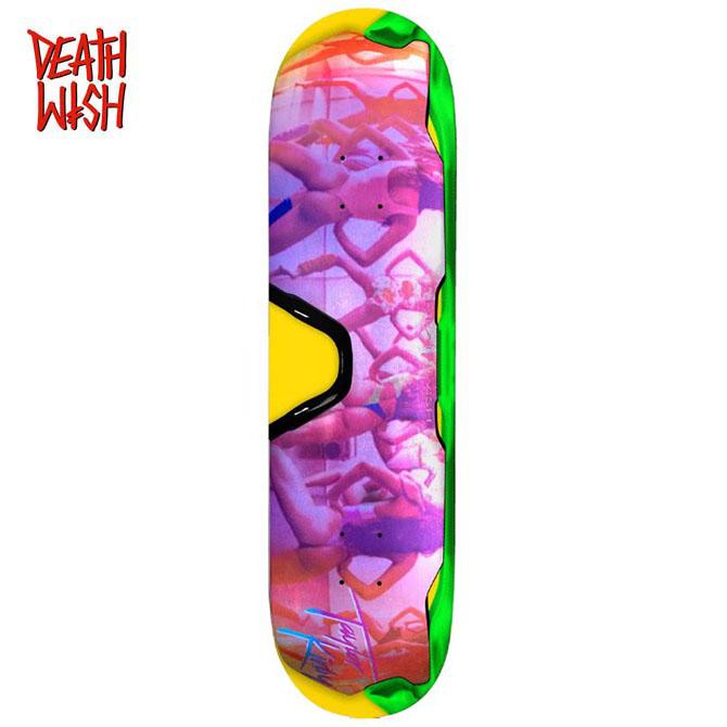 DEATHWISH(デスウィッシュ) 8.25×31.5 KIRBY RAZOR SHARP DECK デッキ 板 【スケートボード/スケボー/SKATEBOARD】