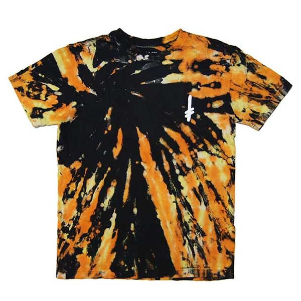 【2019SPRING】DEATHWISH(デスウィッシュ) GANG LOGO T-SHIRTS (STARBURST TIE-DYE) TEE 半袖Tシャツ タイダイ【スケートボード/スケボー/SKATEBOARD】