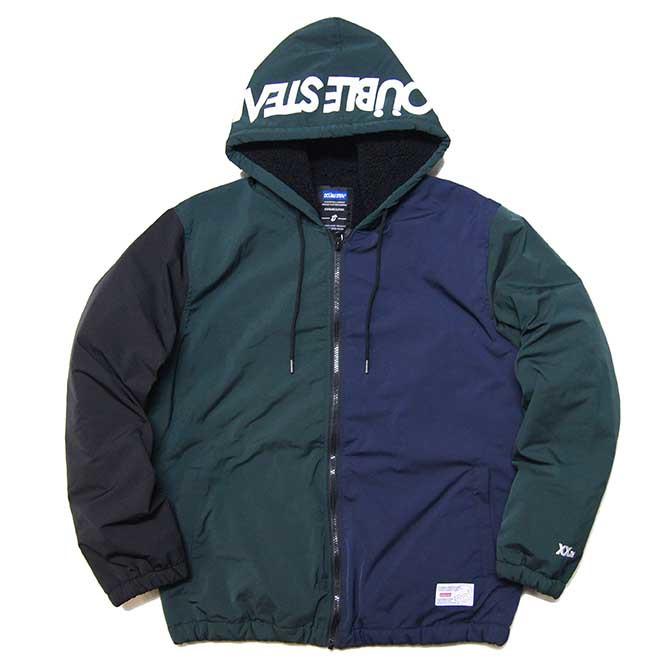 【セール/SALE-30】DOUBLESTEAL(ダブルスチール)HOOD LOGO JACKET (MULTI) フードジャケット